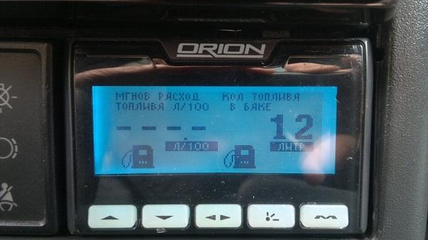 Бортовой компьютер Орион БК