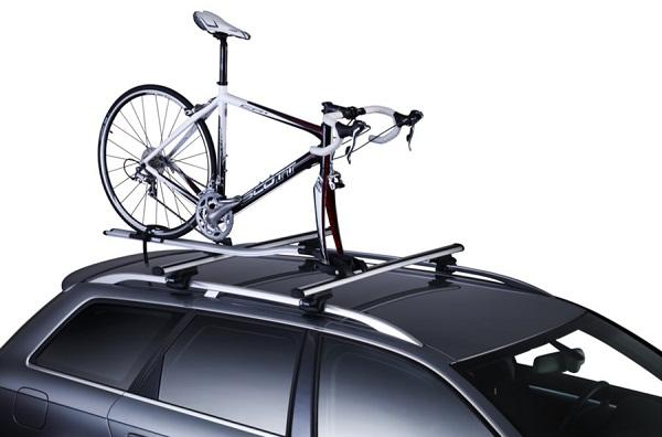 Велосипедное крепление на крышу автомобиля
