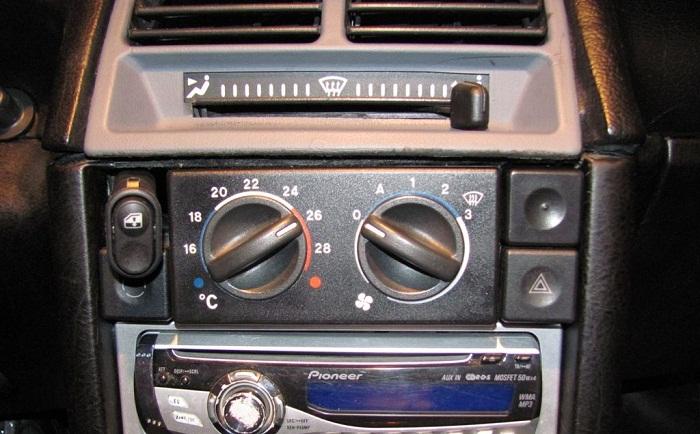 Детальная схема и устройство печки ВАЗ-2110