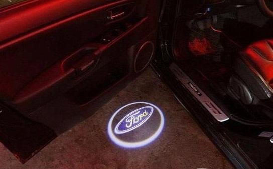 Подсветка дверей с логотипом Форд
