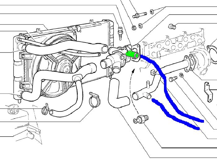 Как выгнать воздух из системы охлаждения на Ладе Калине