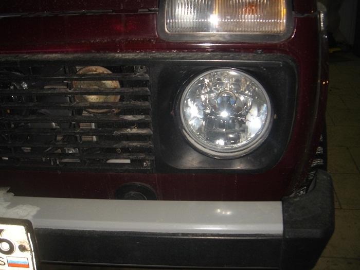 Нива 21214 ксеноновые лампы