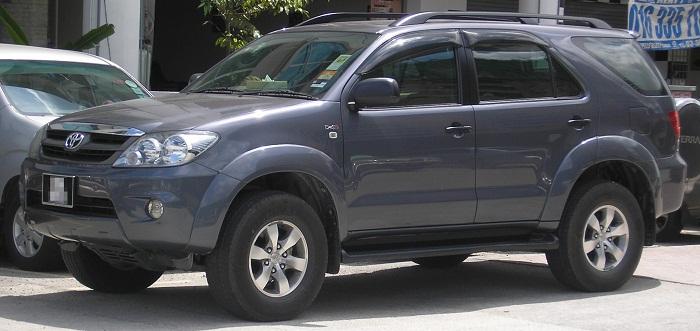 Тойота Фортунер 2.7, 2.8, 4.0 расход топлива на 100 км