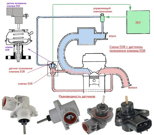 Клапан ЕГР: предназначение, принцип действия, обслуживание и ремонт