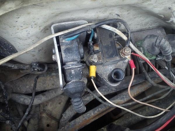Проверяем стартер и катушку зажигания
