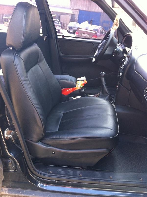 Chevrolet Niva перетяжка салона