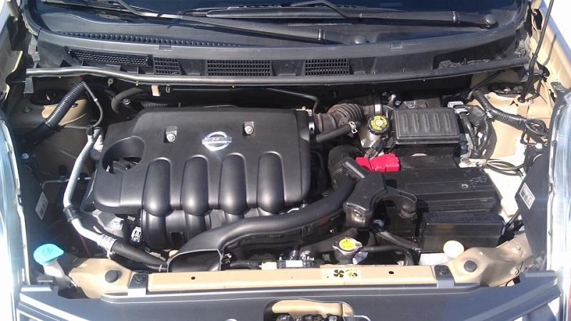 nissan note двигатель 1.6