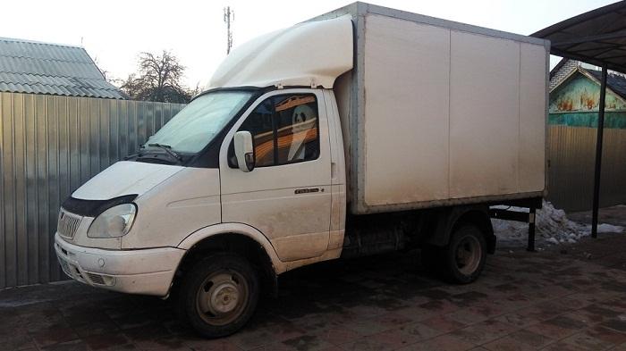 Газель Фургон размер кузова