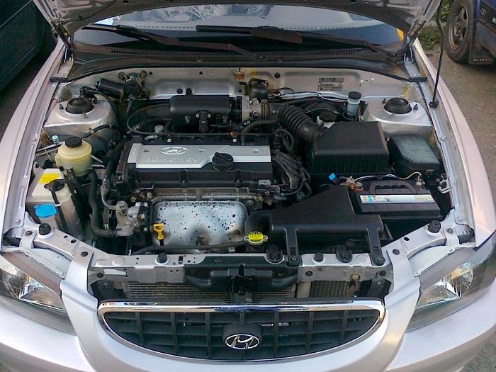 Реальный ресурс двигателя 1.5 и 1.6 литра на Hyundai Accent