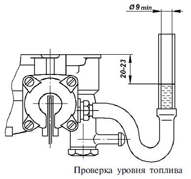 к-151 регулировка поплавкового механизма