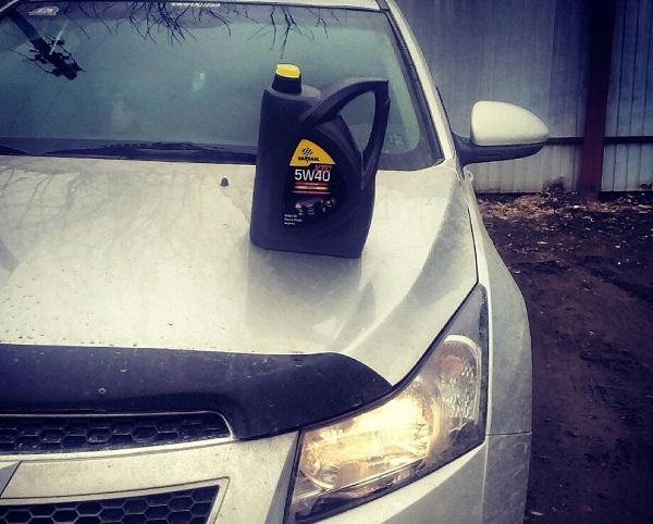 Какое масло лучше заливать в двигатель Chevrolet Cruze 1.6, 1.9