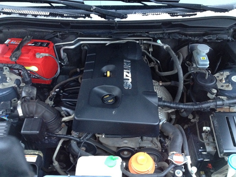 двигатель на Suzuki Grand Vitara