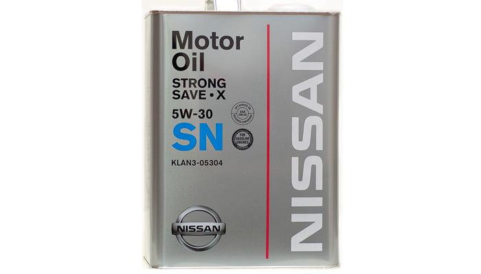 Nissan с вязкостью по SAE - 5W-30