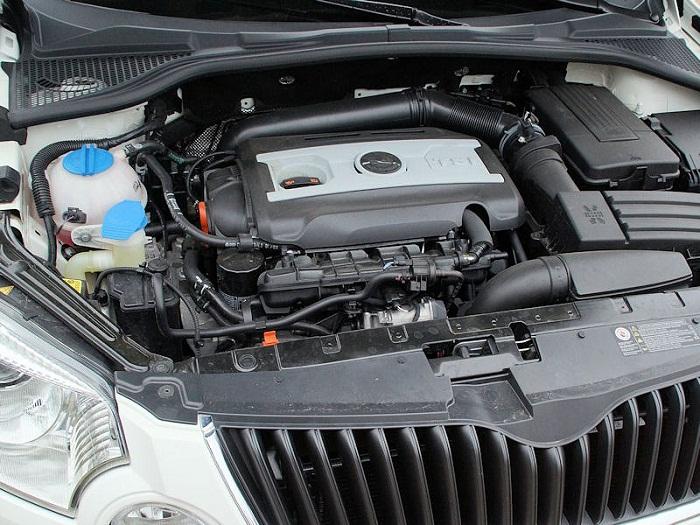 Шкода Йети двигатель 1.8