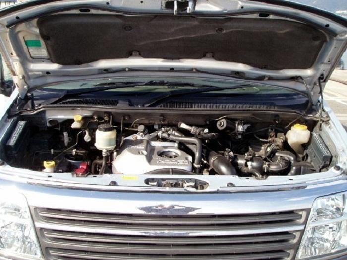 Nissan Elgrand двигатели