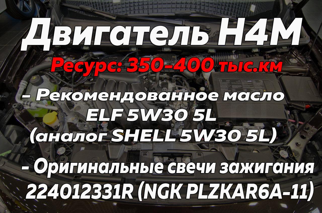 Двигатель К4М Рено Дастер