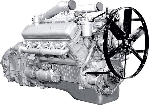 Двигатель ЯМЗ 238 фото