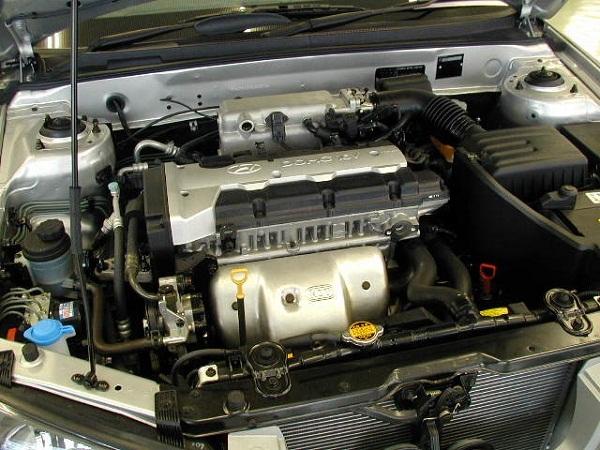 Киа Спортейдж двигатель 2.0 MPi (G4GC)