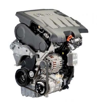 Описание силового агрегата VW 2.0 TDI