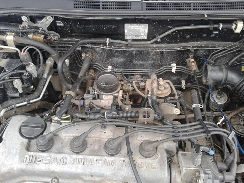 Almera N15 двигатель 1.6 ресурс