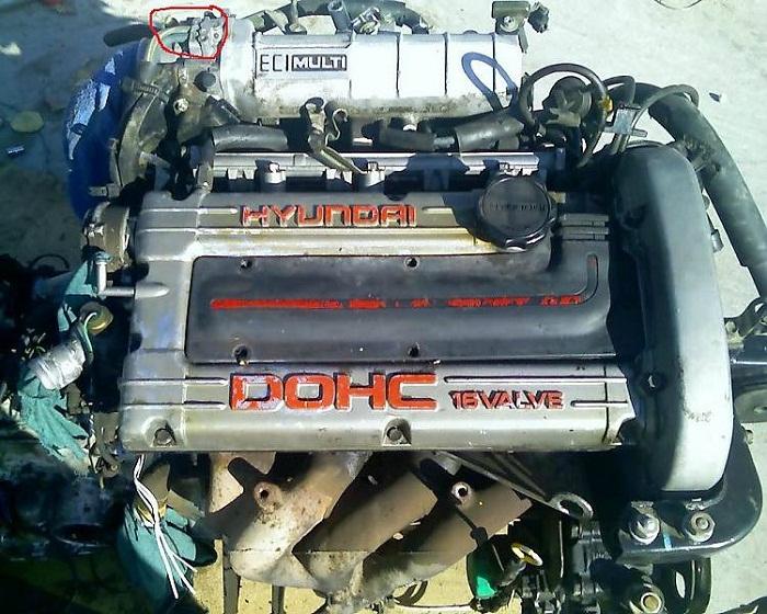 Hyundai Elantra G4CR двигатель