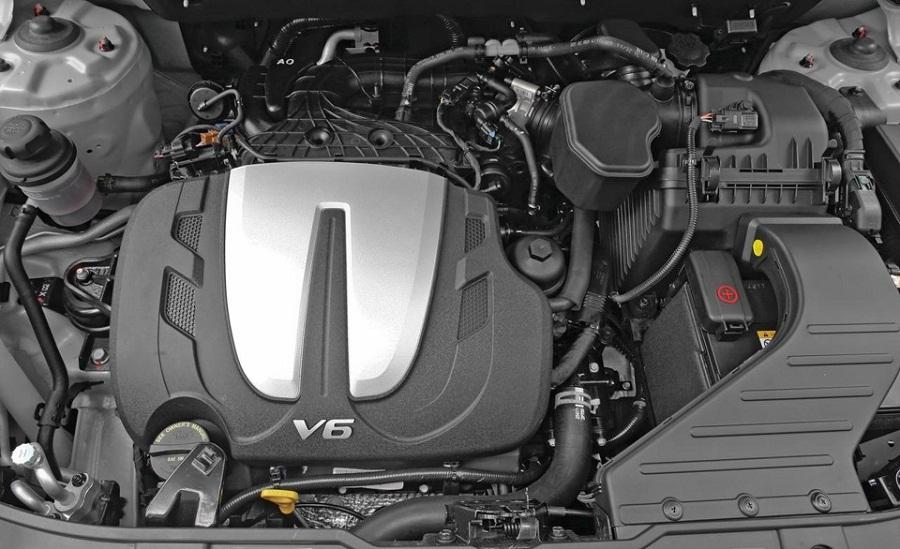 Kia Sorento мотор на 3.5 литра