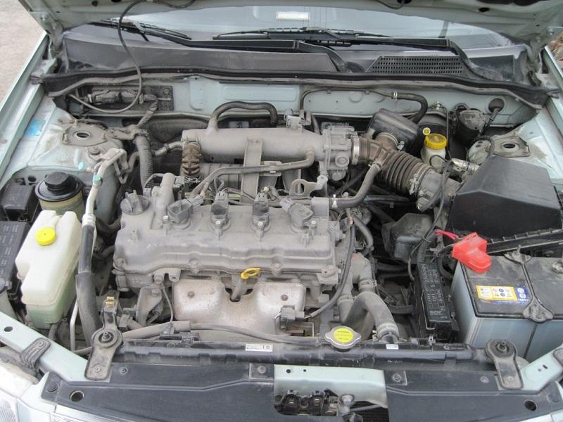 Nissan Almera Classic двигатель