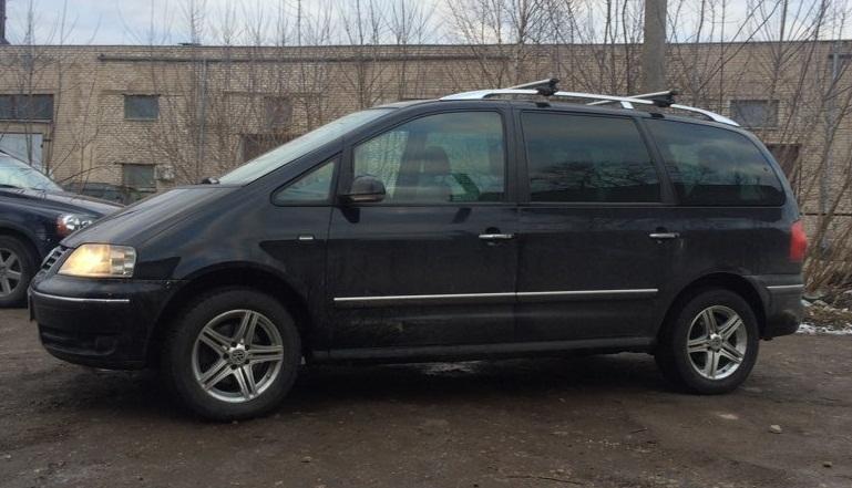 Volkswagen Sharan 2.0 tdi отзыв