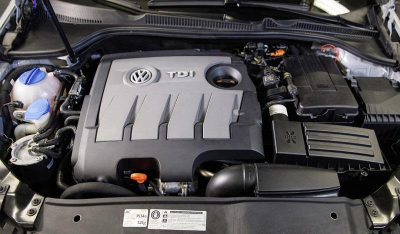 Volkswagen Tiguan 2.0 TDI двигатель EA189