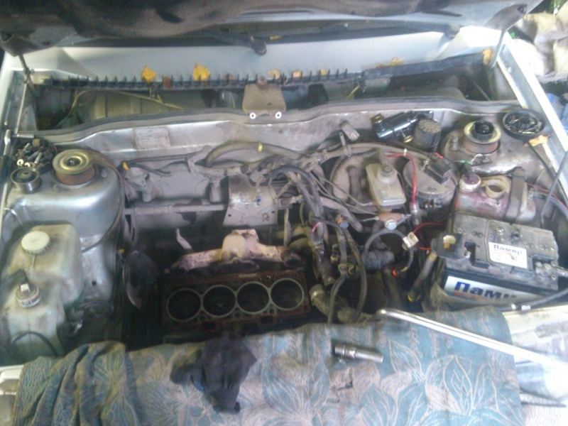 ВАЗ-2114 Двигатель троит