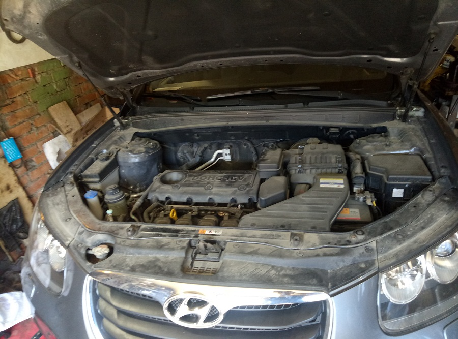 двигатель Хендай Санта Фе 2.4 л. G4KE