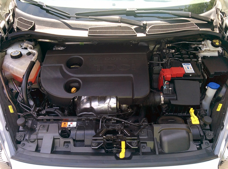 Форд Фиеста MK5 двигатель