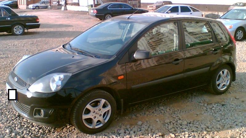 Форд Фиеста MK5 1.4