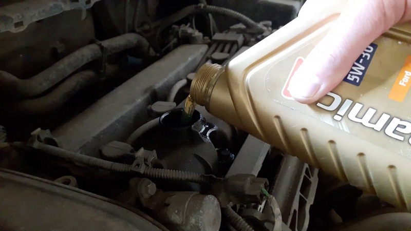 Форд Фокус 2 масло расход