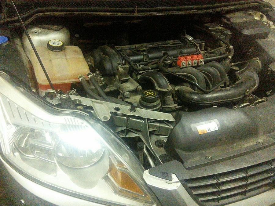 Форд Фокус 2 1.6, 1.8, 2.0 расход масла на 1000 км