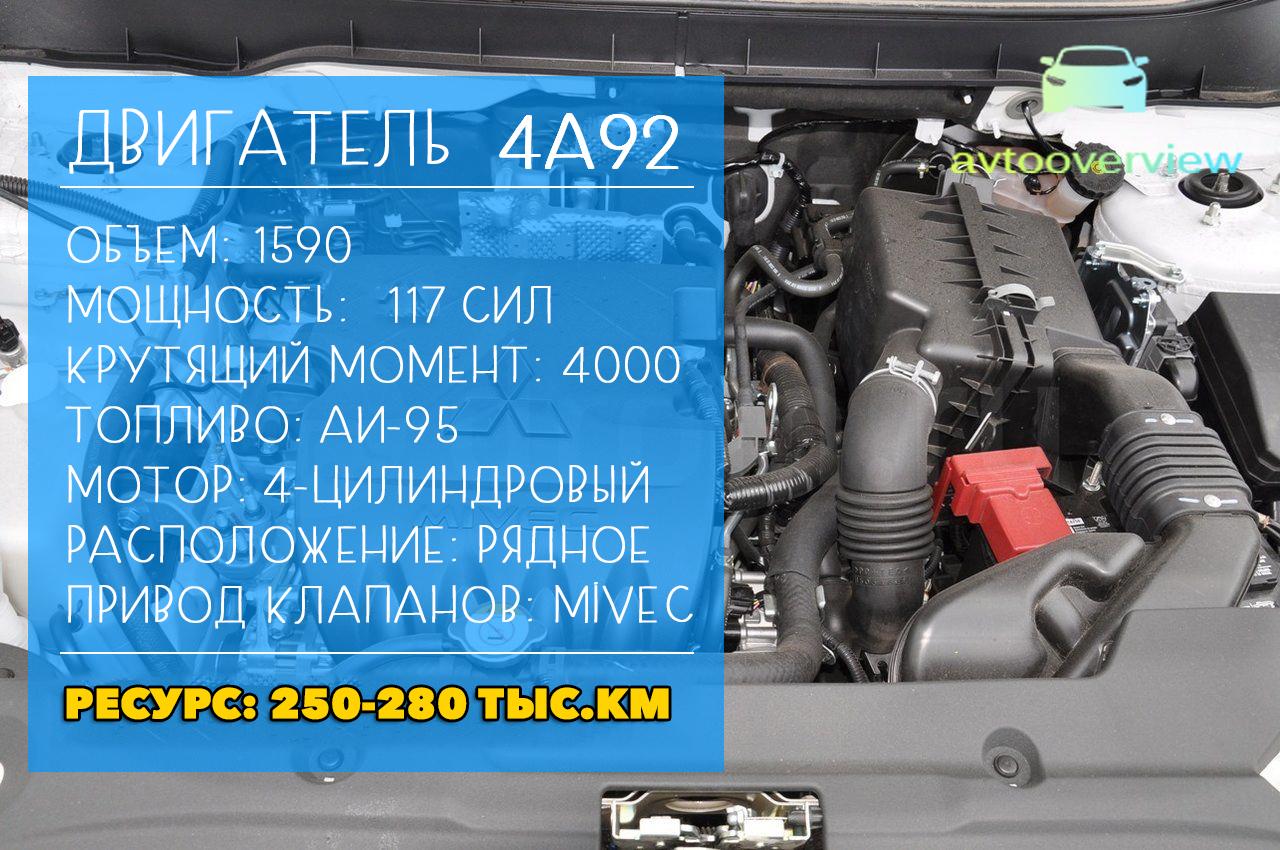 двигатель 4А92