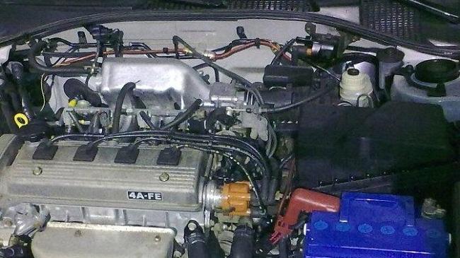 Двигатель 4A-FE 1.6 л